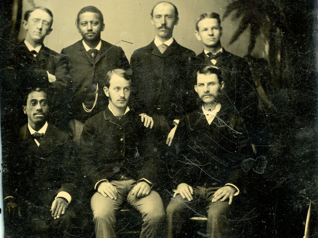 black and white photo of HSDM class of 1881